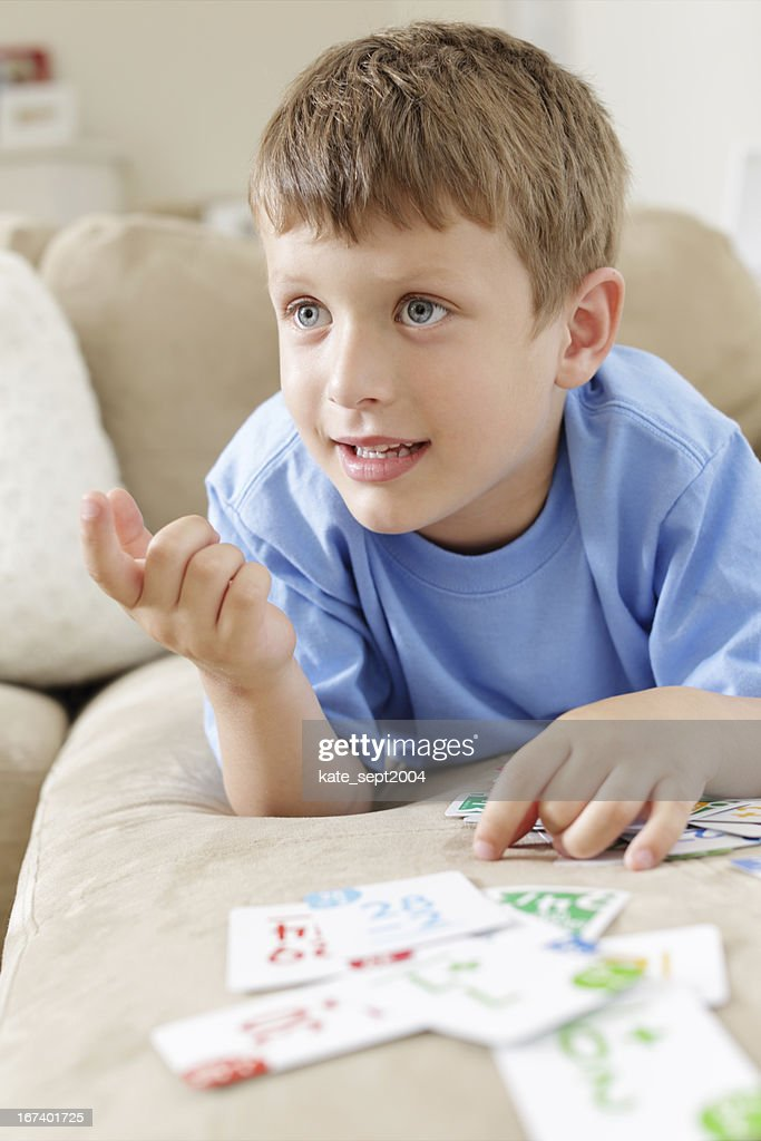 Funny way to learn math : Stock Photo