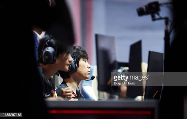FunPlus Phoenix Mid Laner Tae-Sang 'Doinb' Kim during Semi Finals World Championship match between FunPlus Phoenix and Invictus Gaming on November...