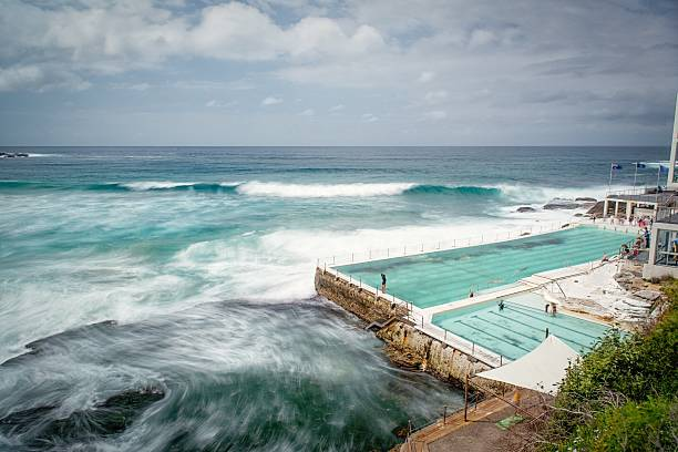 Furious Sea By Bondi Icebergs Pool Wall Art