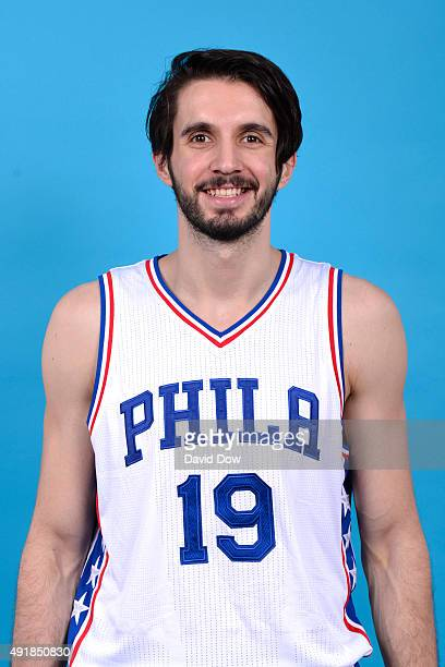 Furkan Aldemir of the Philadelphia 76ers poses for a photo during media day on September 28 2015 in Galloway New Jersey NOTE TO USER User expressly...