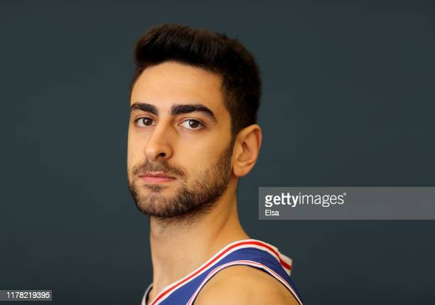 Furkan Korkmaz of the Philadelphia 76ers poses for a portrait during Media Day at 76ers Training Complex on September 30 2019 in Camden New Jersey...