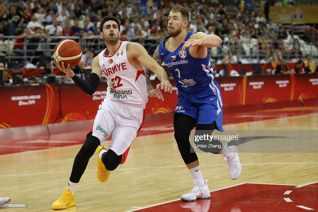 Turkey v Czech Republic: Group E - FIBA World Cup 2019 : News Photo