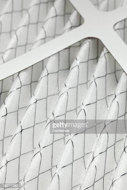 furnace filter close-up - lighting technique stock pictures, royalty-free photos & images