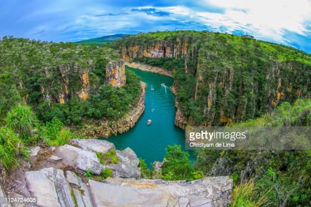 furnas canyon, capitolio, minas gerais, brazil - ミナスジェライス州 ストックフォトと画像