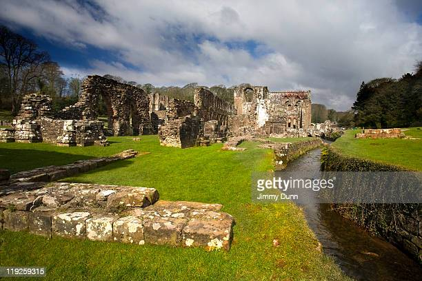 furness abbey,  cumbria - barrow in furness stock photos and pictures