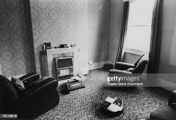 A furnished squat in Raynham Road west London 17th October 1975