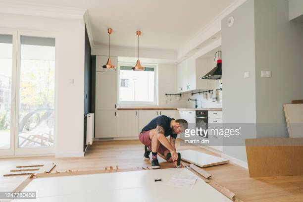 furniture assembly - renovation stock pictures, royalty-free photos & images