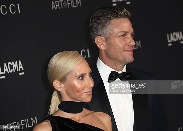 Furniture designer Alexandra Von Furstenberg and architectural designer Dax Miller arrive at the 2016 LACMA Art Film Gala honoring Robert Irwin and...