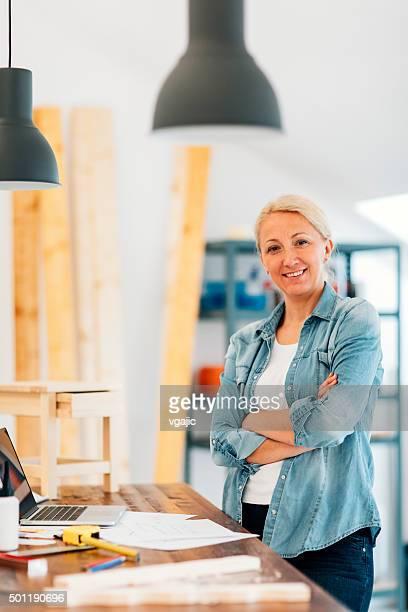Möbel-Designer In Ihrem Workshop.