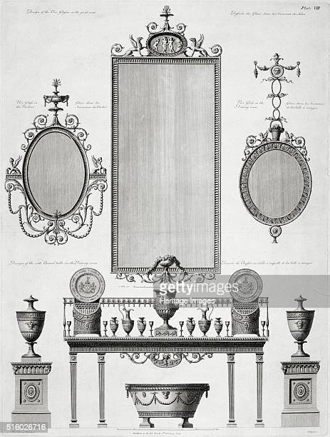 Furniture designs for Kenwood House Hampstead London late 18th century Kenwood House was remodelled by Robert Adam in the neoclassical style between...