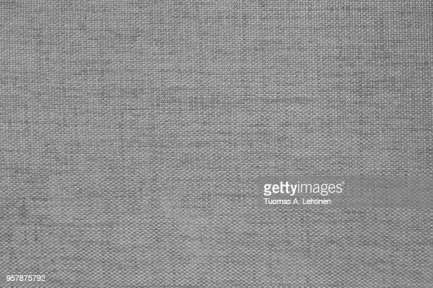 Furniture fabric texture, abstract background in black and white