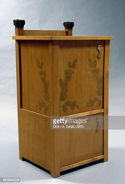 Furniture for a lady's bedroom by Ugo Ceruti maple Italy 20th century Genoa The Wolfsonian Foundation