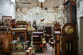 Furniture on flea market, Germany