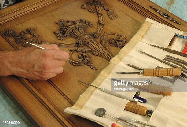 furniture restorer - restoration style stock pictures, royalty-free photos & images