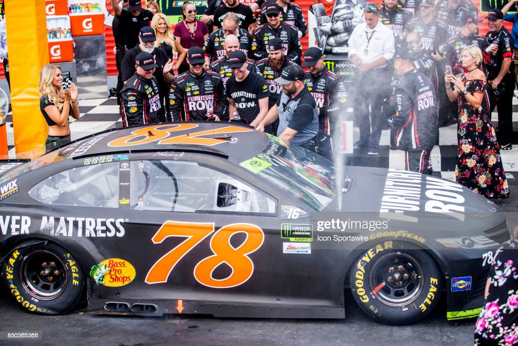 AUTO: SEP 17 NASCAR Chase for the Cup Round of 16 - Tale of the ...