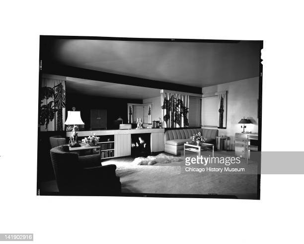 Furniture Settings Home Interiors display Living room Chicago Illinois June 10 1946