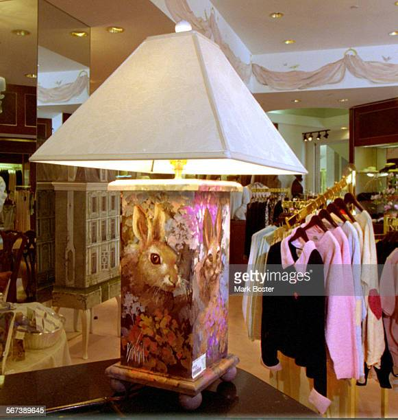 LSFurniture/Lamp060995MB––––At the At Ease Women's and Home Store in Fashion Island Newport Beach everything from lamps to clothing is for sale The...