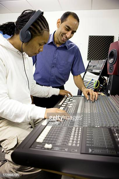 further education: mixing desk