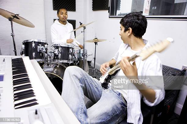 teenage Studenten: Musik-Studenten