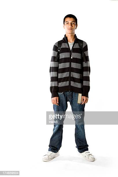 further education: serious student - skinny teen stock photos and pictures