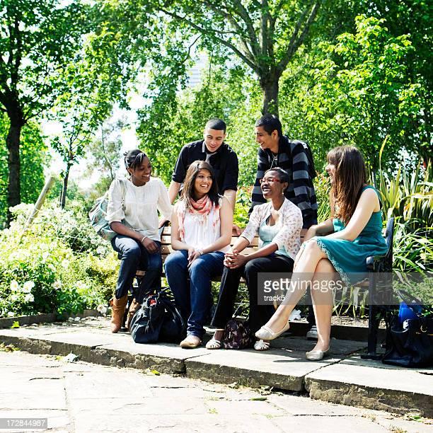 teenage Studenten: Sozialwissenschaften