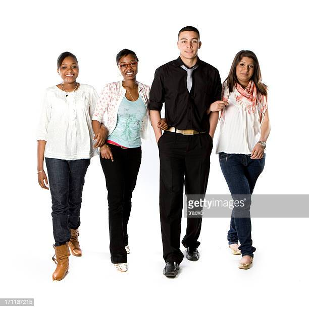 further education: stepping out - hands in pockets stock pictures, royalty-free photos & images