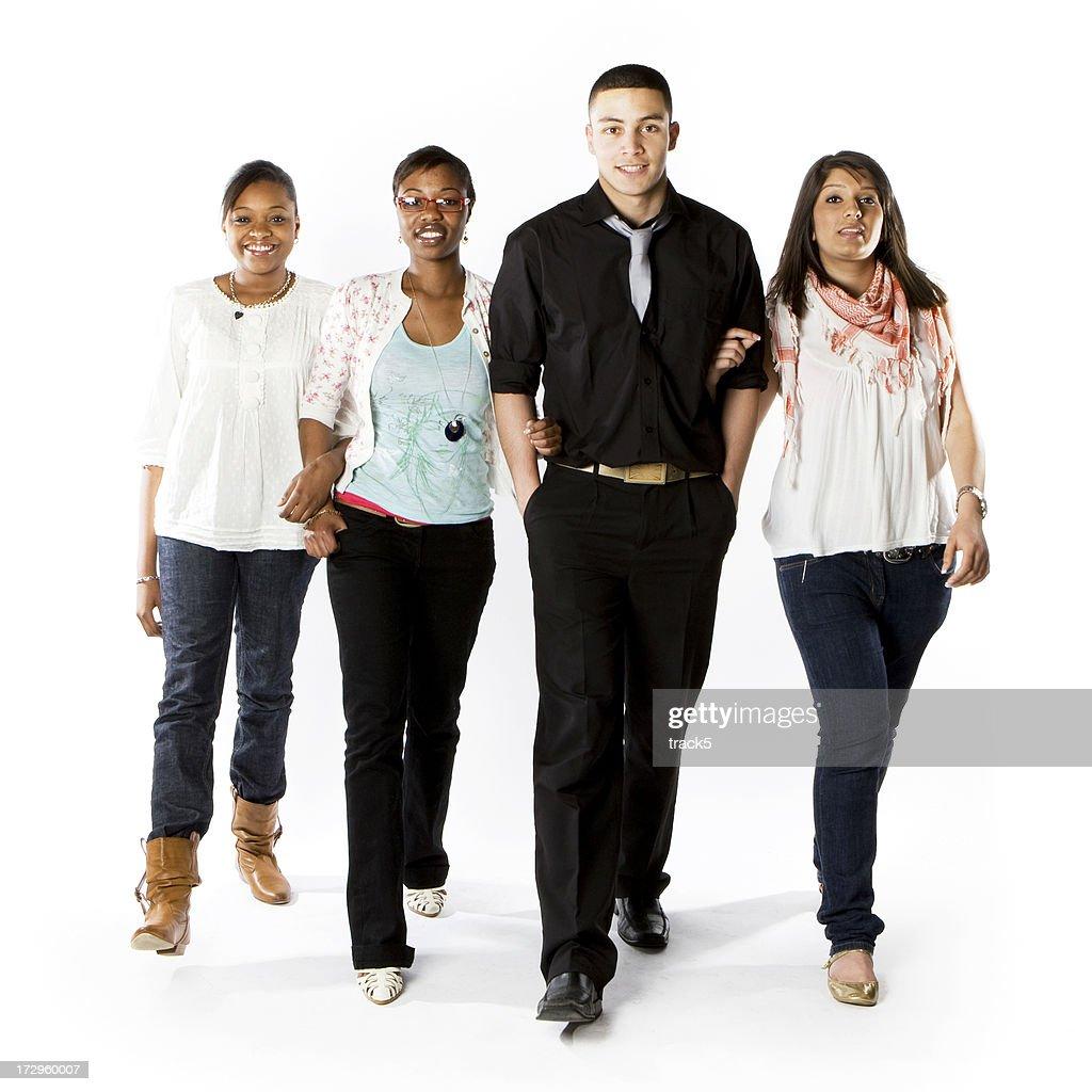10 代の学生:リゾートビレッジの学生 : ストックフォト