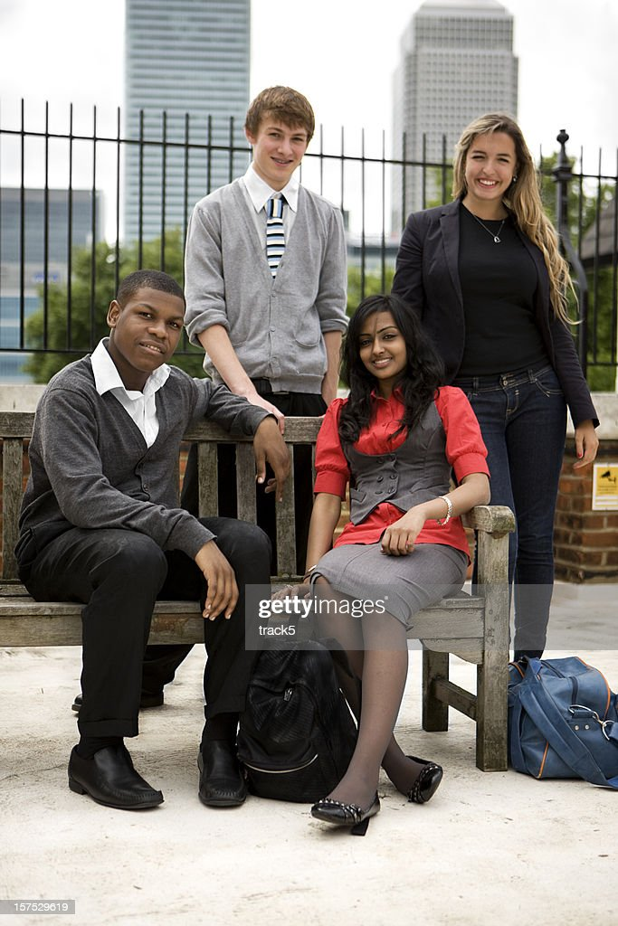 further education: student portrait : Stock Photo