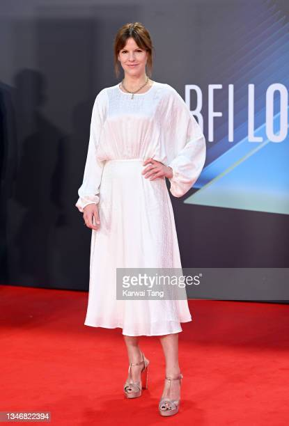 """Fuschia Kate Sumner attends the """"King Richard"""" UK Premiere during the 65th BFI London Film Festival at The Royal Festival Hall on October 15, 2021 in..."""