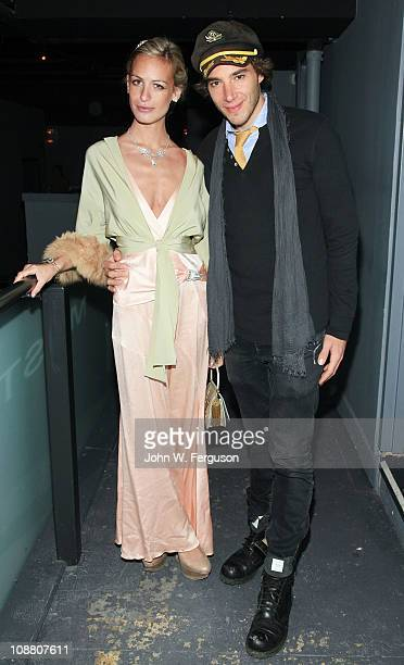 J Fusco and Alexa Winner attend the 'Haiti Cherie' Benefit to Support Grace International at District 36 on February 3 2011 in New York City