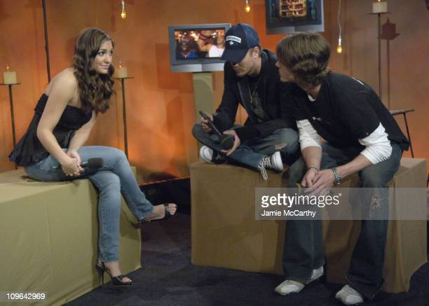 Fuse VJ Marianela Chad Michael Murray and Jared Padalecki