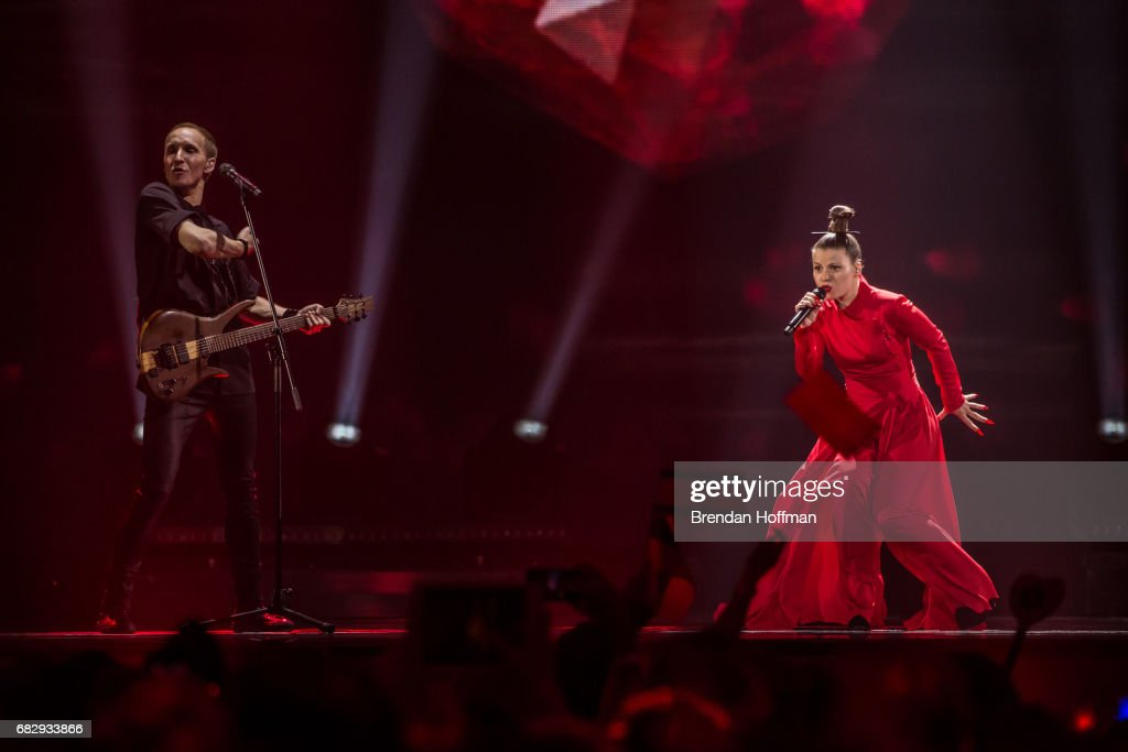 An American Eye On The Eurovision Song Contest : Nachrichtenfoto