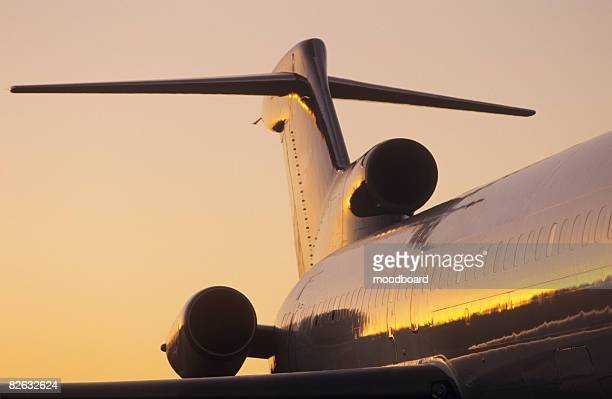 fuselage and tailplane of boeing 727 - vertical stabilizer stock pictures, royalty-free photos & images