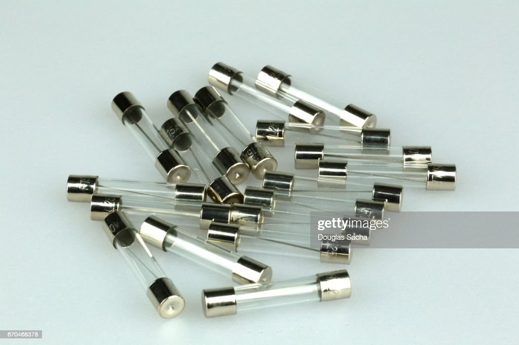 Fuses for small electronics : Stock Photo