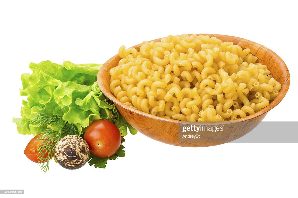 Fusilli pasta : Stock Photo
