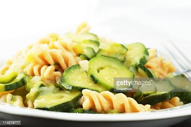 Fusilli Pasta con Zucchini