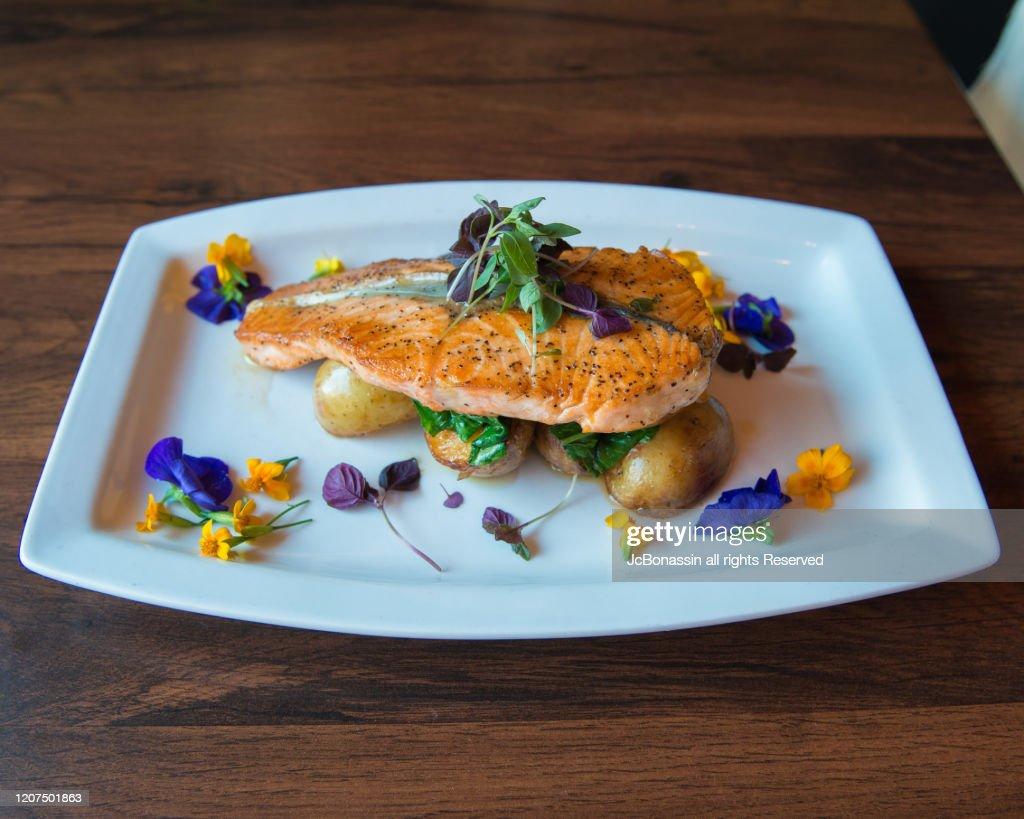 Fusion cuisine : Stock Photo