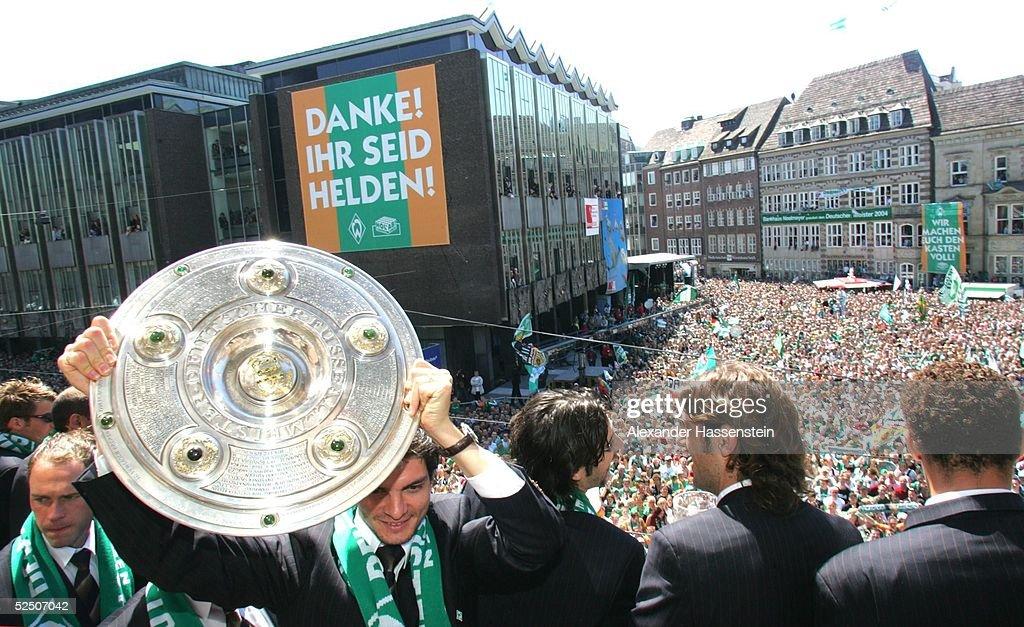 werder bremen deutscher meister 2004