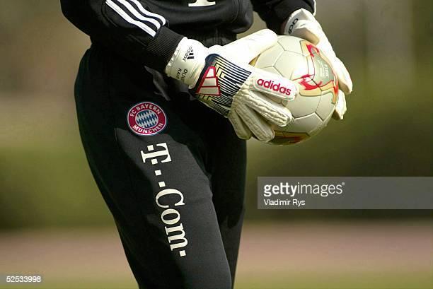 Fussball 1 Bundesliga 03/04 Dubai FC Bayern Muenchen / Trainingslager Feature Torwart 110104