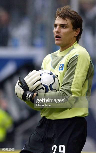 Fussball 1 Bundesliga 03/04 Hamburg Hamburger SV Hertha BSC Berlin 20 Stefan WAECHTER / HSV 130304