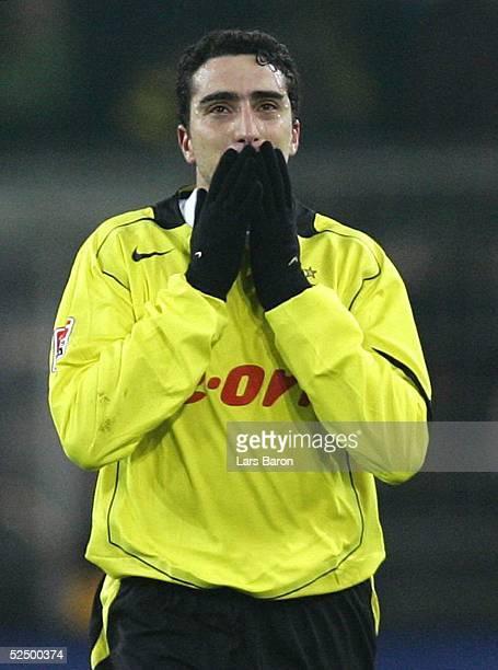 Fussball 1 Bundesliga 04/05 Dortmund Borussia Dortmund SC Freiburg 20 Jubel zum 20 Ahmed MADOUNI / BVB 201104