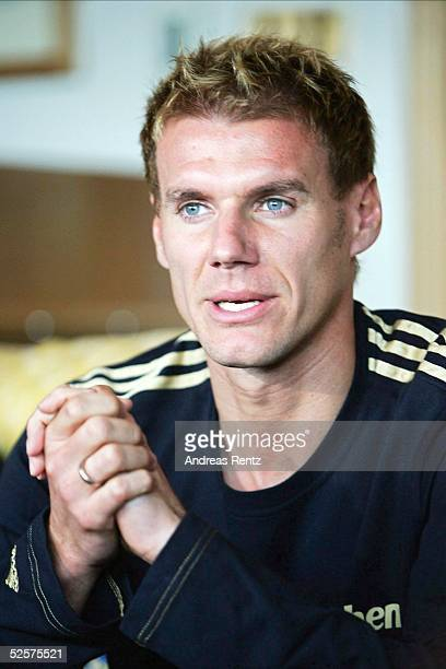 Fussball 1 Bundesliga 04/05 Dubai FC Bayern Muenchen / Trainingslager Alexander ZICKLER 110105