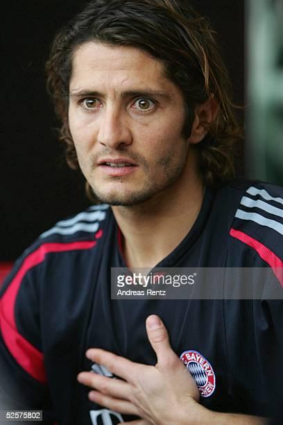 Fussball 1 Bundesliga 04/05 Dubai FC Bayern Muenchen / Trainingslager Bixente LIZARAZU 080105