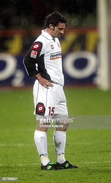 Fussball 1 Bundesliga 04/05 Leverkusen 130205Bayer 04 Leverkusen FSV Mainz 05 20Christoph TEINERT/Mainz