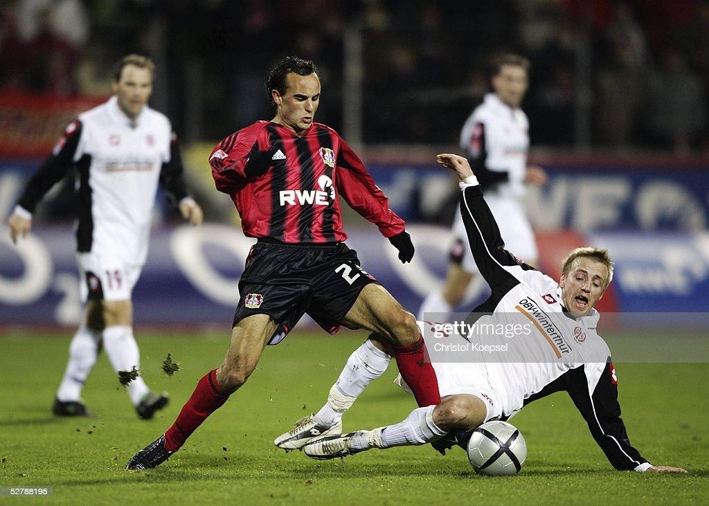 FB: 1. Bundesliga 04/05, Bayer 04 Leverkusen - FSV Mainz 05 : News Photo