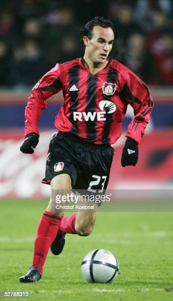 Fussball 1 Bundesliga 04/05 Leverkusen 130205Bayer 04 Leverkusen FSV Mainz 05Landon DONOVAN/Bayer spielt erstmals von Beginn an