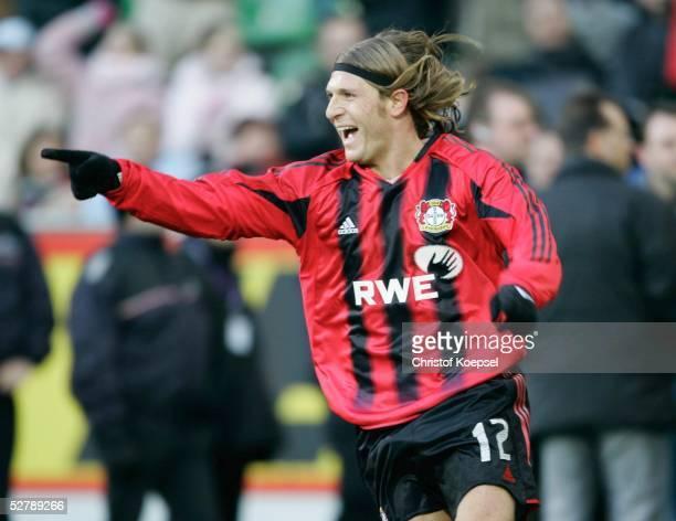 Fussball 1 Bundesliga 04/05 Leverkusen 290105Bayer 04 Leverkusen VfL Bochum20 durch Andrey VORONIN/BayerKoepsel