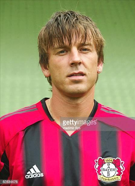 Fussball 1 Bundesliga 04/05 Leverkusen Bayer 04 Leverkusen Bernd SCHNEIDER 130704