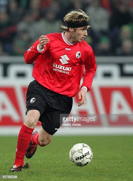 Fussball 1 Bundesliga 04/05 Moenchengladbach 060205Borussia Moenchengladbach SC Freiburg 32Otar KHIZANEISHVILI/Freiburg