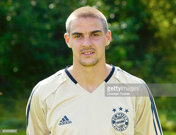 Fussball 1 Bundesliga 04/05 Muenchen FC Bayern Muenchen Mannschaftsportraits Portrait Sebastian DEISLER 210704